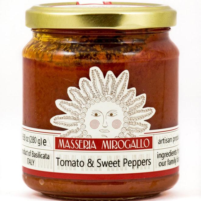 Tomato & Sweet Pepper Sauce