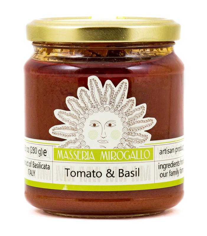 Tomato & Basil Authentic Italian Sauce