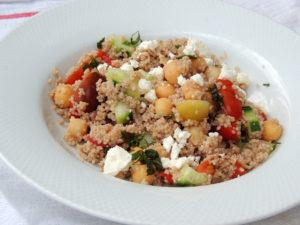 Italian Farro Couscous Salad