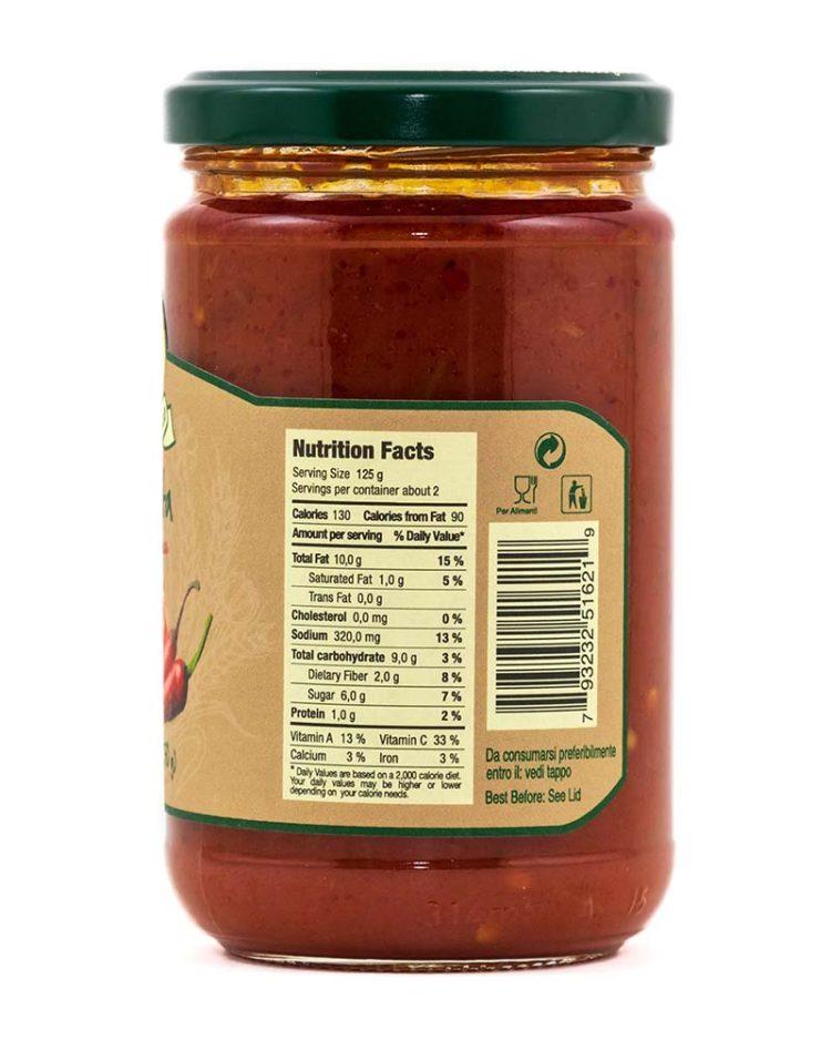 Arrabbiata Sauce-side