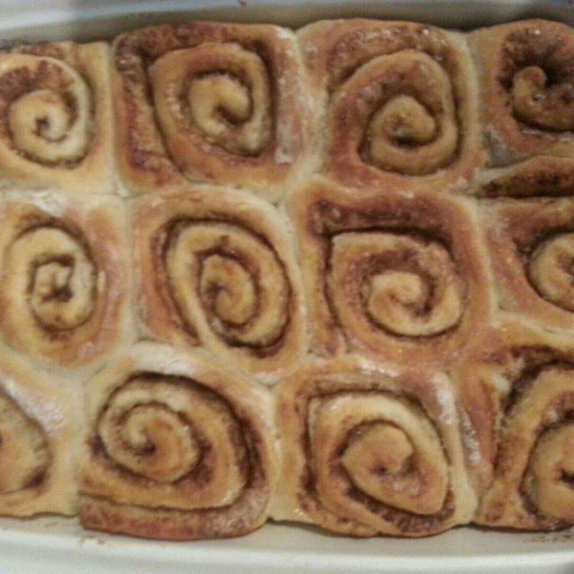 Cinnamon Rolls with Italian Flour-finish