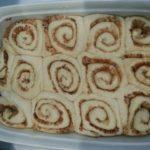 Cinnamon Rolls with Italian Flour2