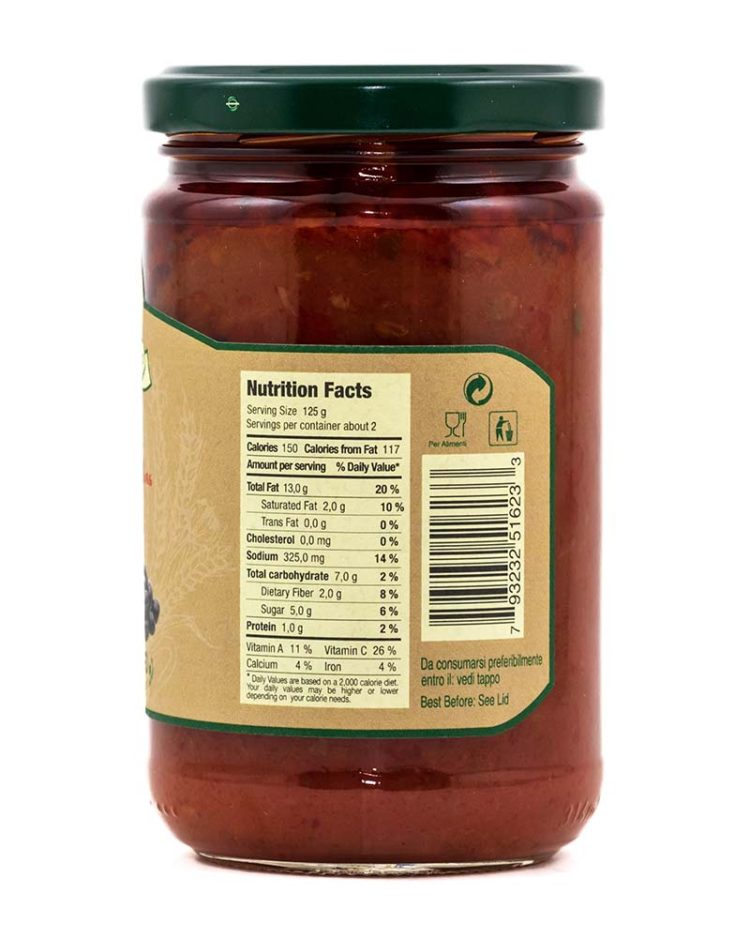 Family Size Olive Sauce-sideb