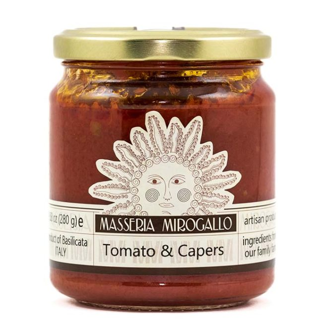 Tomato Sauce with Capers and Olives